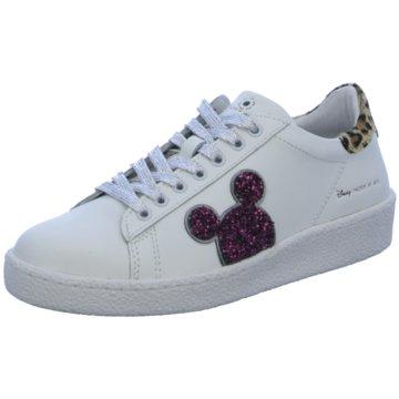 Master of Arts Sneaker Low weiß