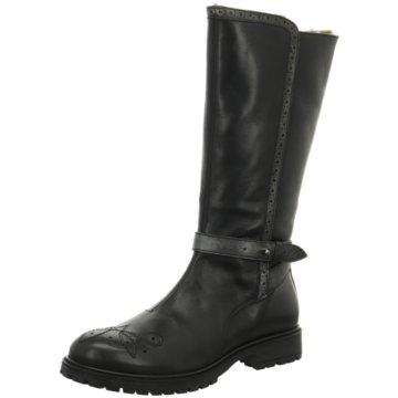 Momino Klassischer Stiefel schwarz