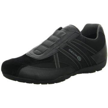 Geox Komfort Slipper schwarz