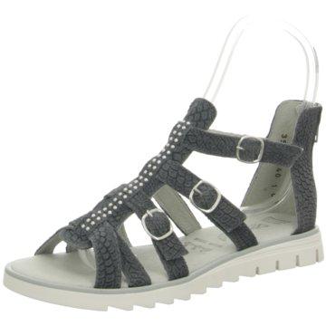 Däumling Offene Schuhe grau