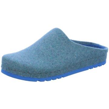 Rohde Hausschuh blau