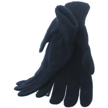 Seiden-Grohn Handschuhe schwarz