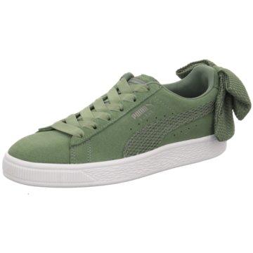 Puma Top Trends SneakerSuede Bow Uprising grün