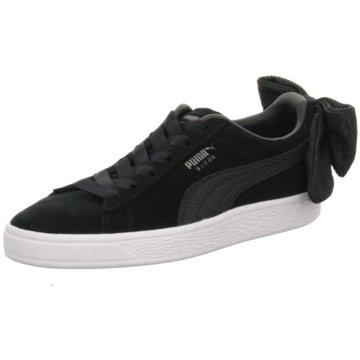 Puma Sneaker LowSuede Bow Uprising schwarz
