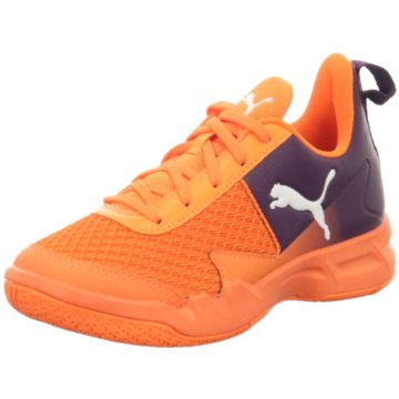 Puma Trainings- und Hallenschuh orange