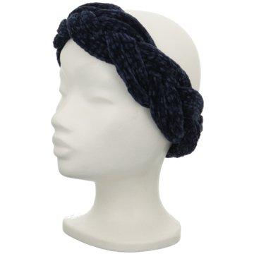Seiden-Grohn Stirnbänder Damen blau