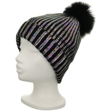 Seeberger Mütze Damen schwarz