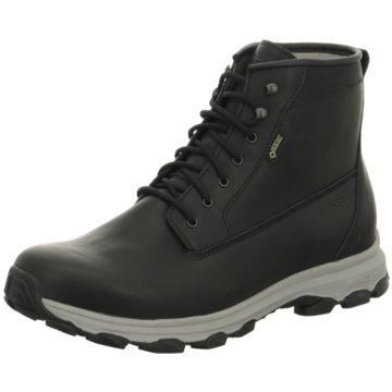Meindl Komfort Stiefel schwarz