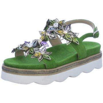 Alma en Pena Sandalette grün