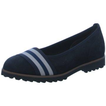 Gabor Sportlicher Slipper blau