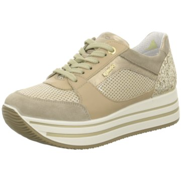 Igi&Co Plateau Sneaker gold