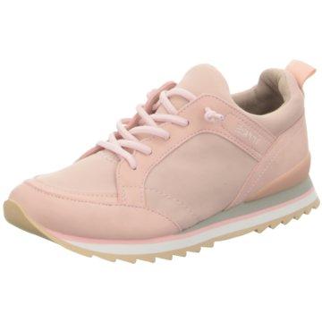 Esprit Sportlicher Schnürschuh rosa