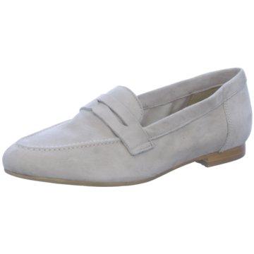Fantasy Shoes Klassischer Slipper beige