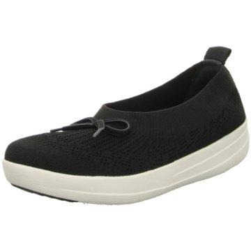 FitFlop Komfort Slipper schwarz
