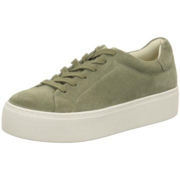 Vagabond Plateau Sneaker grün
