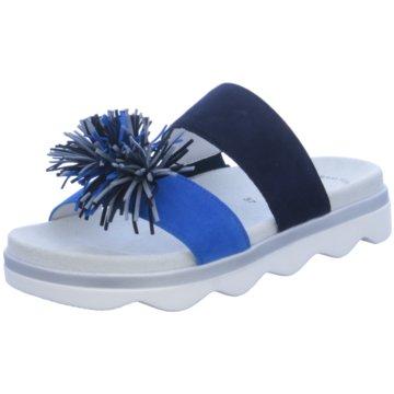 Gabor Klassische Pantolette blau