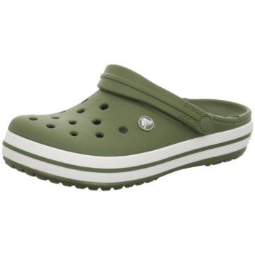 CROCS Pantolette grün