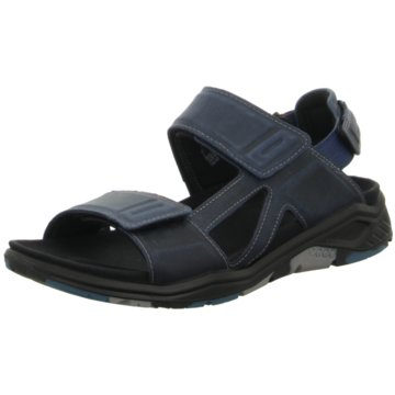 Ecco Komfort SchuhECCO X-TRINSIC blau