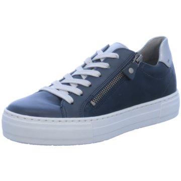 Jenny Plateau Sneaker blau