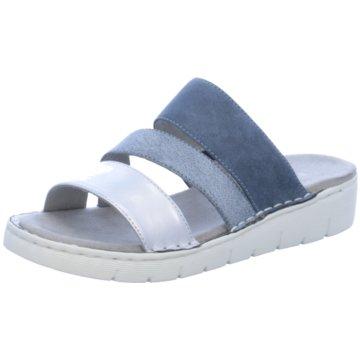 Jenny Komfort Pantolette blau