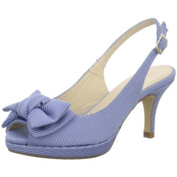 Marian Riemchensandalette blau