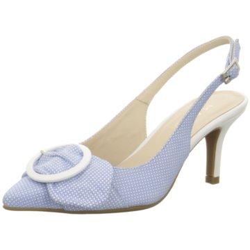 Marian Slingpumps blau