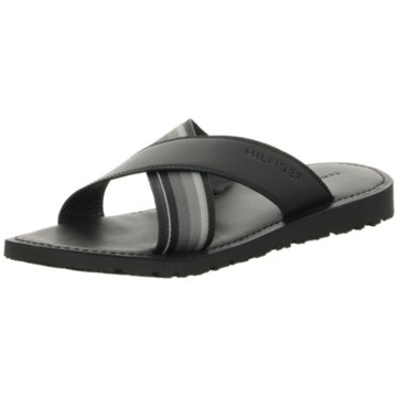 Tommy Hilfiger Criss Cross Leather Sandal
