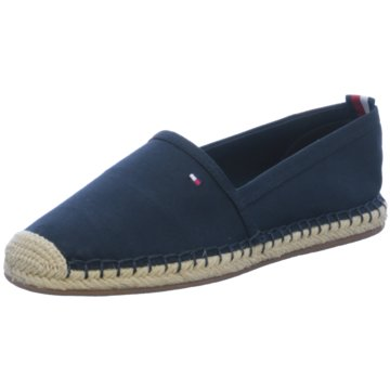 Tommy Hilfiger Slipper blau