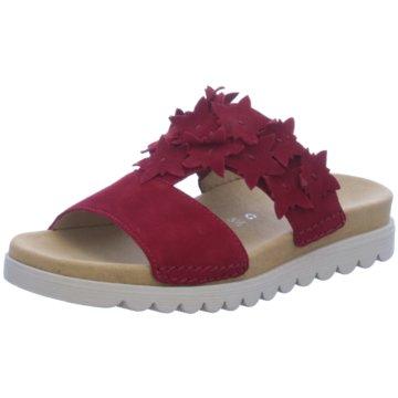 Gabor comfort Komfort Pantolette rot