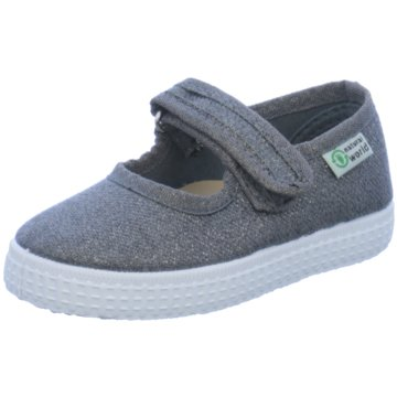 Natural World Eco Halbschuhe grau
