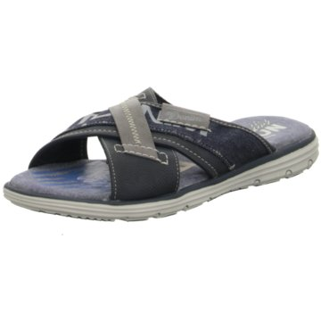 Tom Tailor Pantolette blau