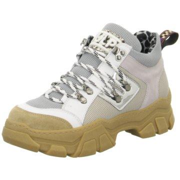 Meline Plateau Sneaker grau