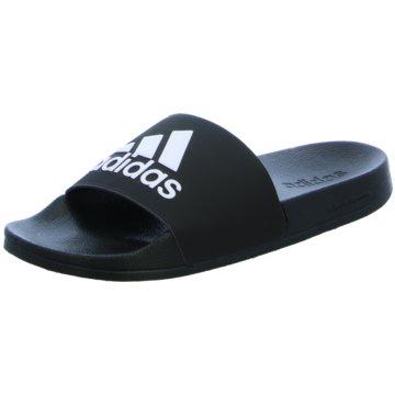 adidas PantoletteAdilette Shower schwarz