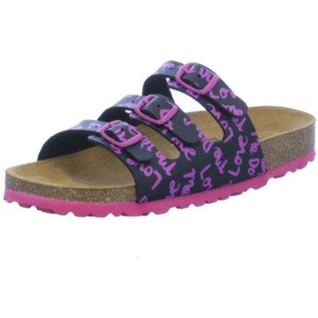 BIO POINT Offene Schuhe pink