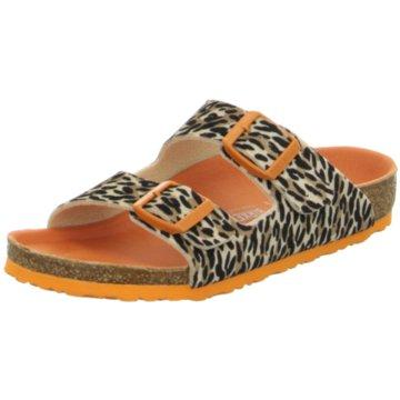 Birkenstock Offene Schuhe beige