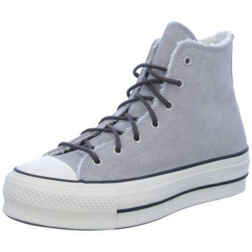 Converse Plateau Sneaker grau