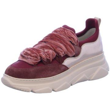 181 Plateau Sneaker rot