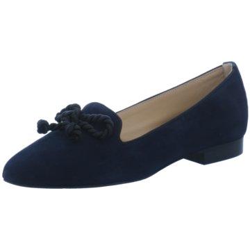 Perlato Slipper blau