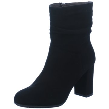 Perlato Klassische Stiefelette schwarz