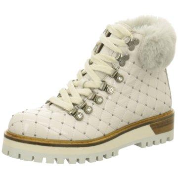Alpe Woman Shoes Schnürboot weiß