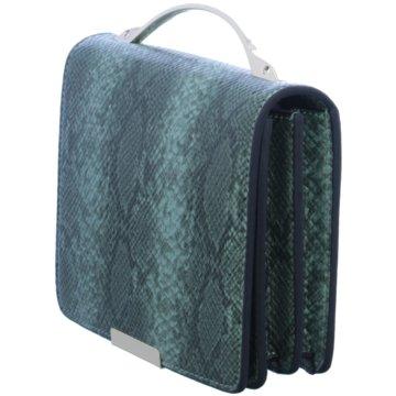 SEIDENFELT Taschen grün