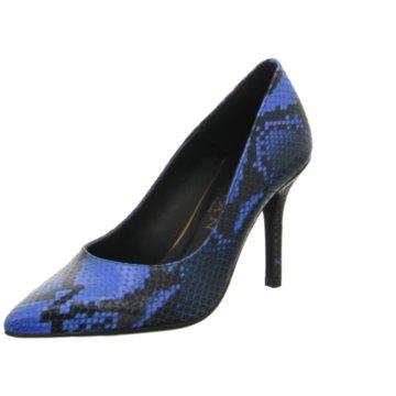 Marian Klassischer Pumps blau