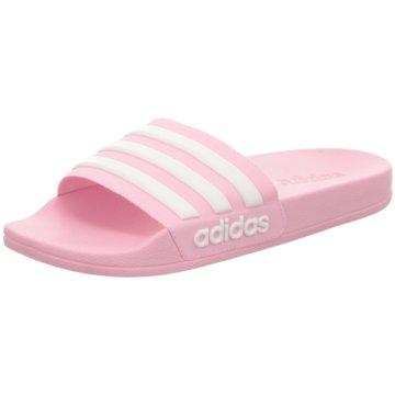 adidas Offene SchuheADILETTE SHOWER K - G27628 pink