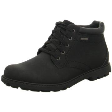 Rockport Komfort Stiefel schwarz