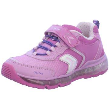 Geox Sneaker LowAndroid rosa