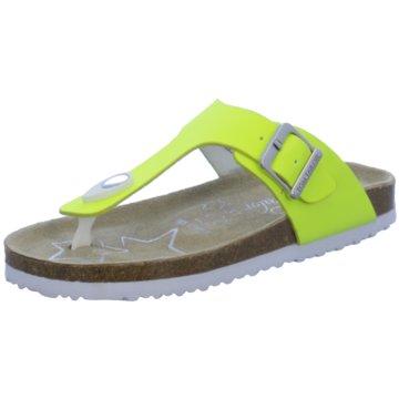 Tom Tailor Offene Schuhe gelb