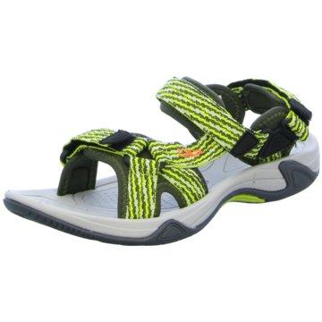 CMP Offene Schuhe grün