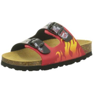 BIO POINT Offene Schuhe rot