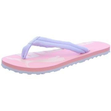 Puma Offene Schuhe rosa