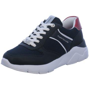 Tom Tailor Top Trends Sneaker blau